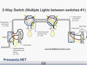 Three Way Switch Diagram Multiple Lights