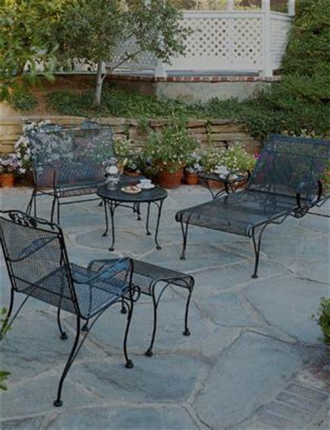 commercial grade outdoor wrought iron patio furniture