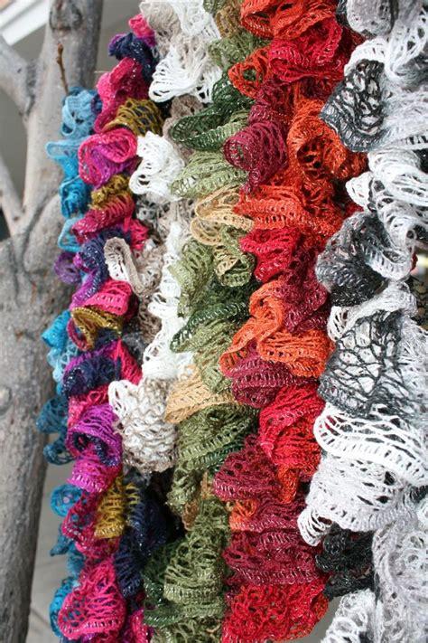No Crochet Sashay Scarf Pattern