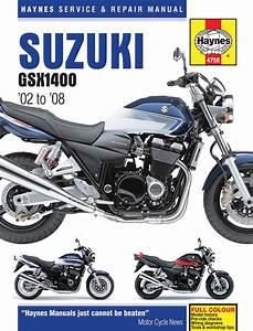 Haynes Service Manual For 2002-08 Suzuki Gsx1400