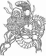 Predator Coloring Alien Vs Colouring Aliens Vm Adult Colorear Adults Depredador Paginas Dibujos Printable Boys Linea Template sketch template