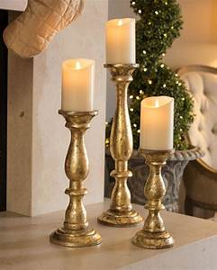 Large, Candle, Holders, Fireplace, Our, Cottage