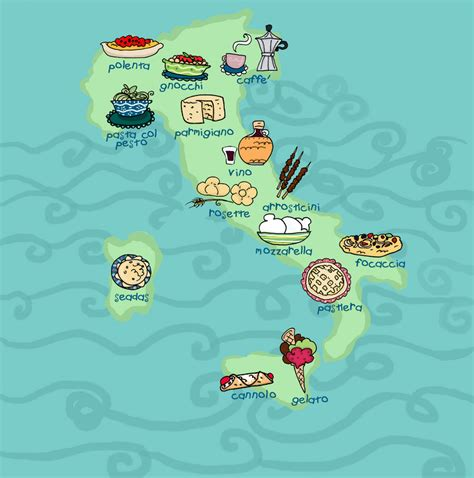 cuisine by region food italy