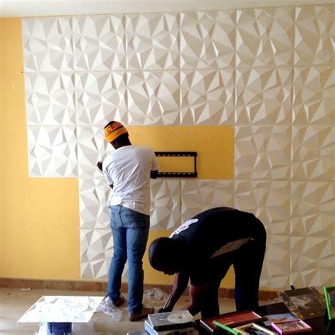 paredes  board panel decorativo diamante    cm vb