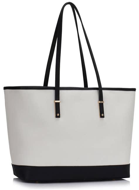 Large Bag ls00461 black white s large tote bag