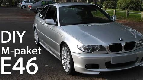 bmw e46 m paket how to install m paket on e46 coupe