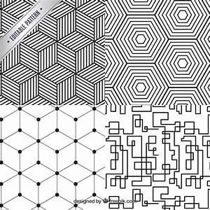 Tapete Geometrische Muster : geometrische muster sammlung download der premium vektor ~ Sanjose-hotels-ca.com Haus und Dekorationen