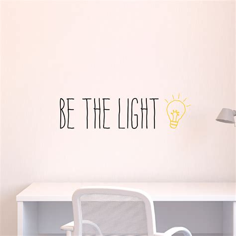 whimsy be the light wall quotes decal wallquotes com