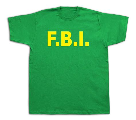 bureau usa fbi federal bureau of investigation usa t shirt