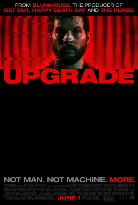 Upgrade Movie Poster (#1 of 2) - IMP Awards