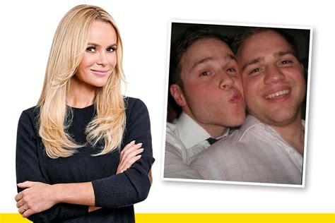Amanda Holden Shares Her Message To Olly Murs And Brother