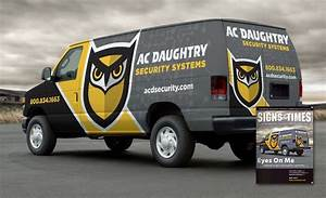 best security company wrap design best truck wraps award With truck lettering designs