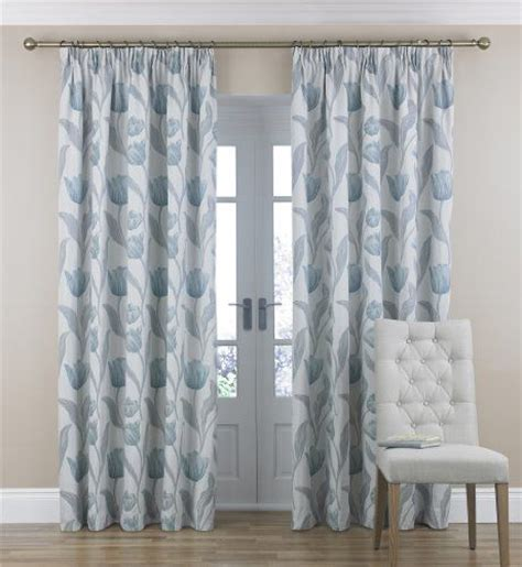 tulip jacquard pencil pleat curtains marks spencer