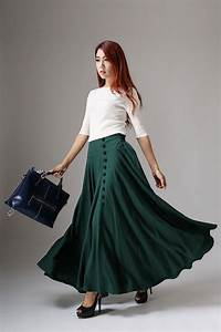 The heart pounding effects of the long skirts for women - AcetShirt