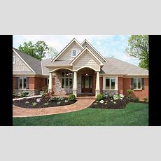 Red Brick Home Exterior Ideas  Youtube