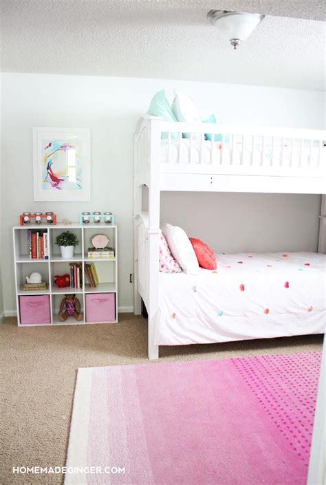Girls Bedroom Reveal Diy Room Decor  Homemade Ginger