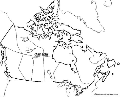 outline map research activity  canada
