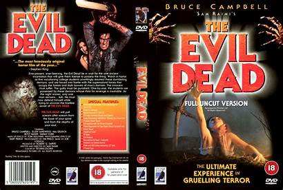 Dead Evil Dvd Covers Label Save Blu