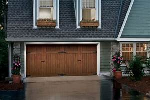Atlas overhead doors garage door styles for Carriage style garage doors with windows