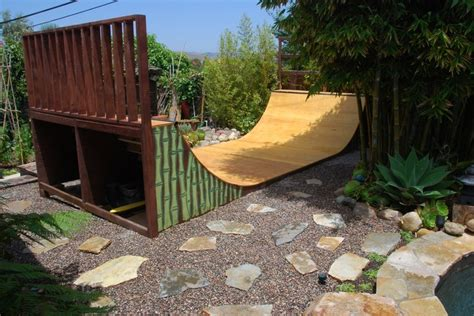 Backyard Half Pipe Skate Ramp Design That Actually Looks