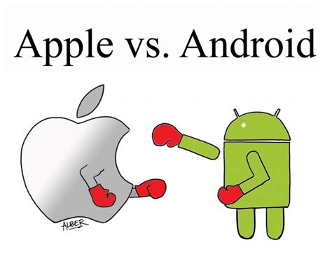 android to mac apple vs android