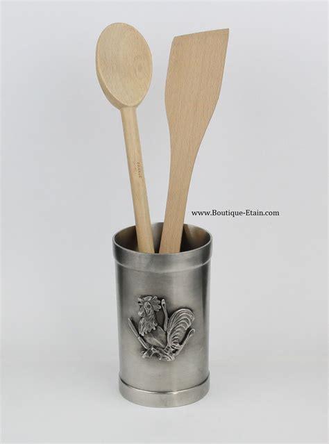 pot à ustensiles de cuisine pot à ustensiles de cuisine décor coq