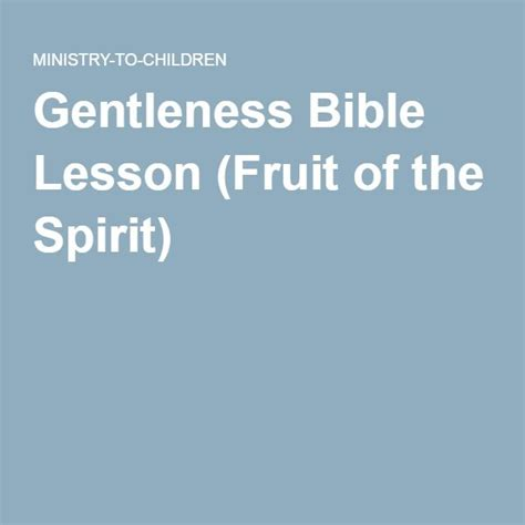 17 Best Images About Fruit Of The Spirit On 17 Best Images About Bible Fruits Of The Spirit On