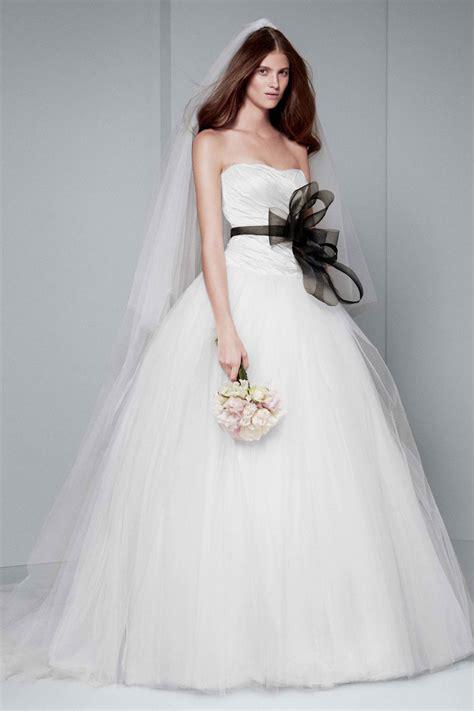 white  vera wang wedding dresses modwedding