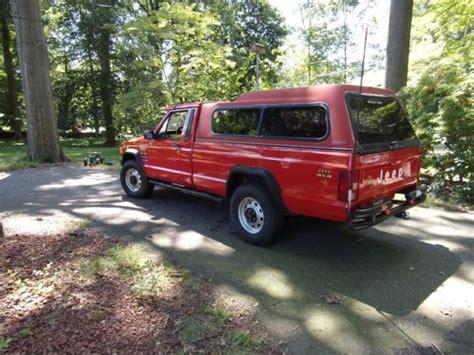 1986 jeep comanche 4x4 1986 jeep comanche pickup 4x4