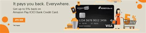What is special about amazon pay icici bank credit card? ICICI Bank Amazon Pay Credit Card Apply Online : icicibank.com - www.statusin.in