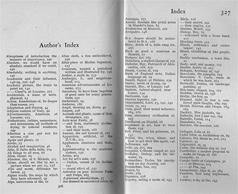 fretmarks: Probably the best book index ever