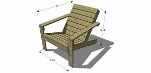 Free DIY Furniture Plans // How to Build an Outdoor Modern