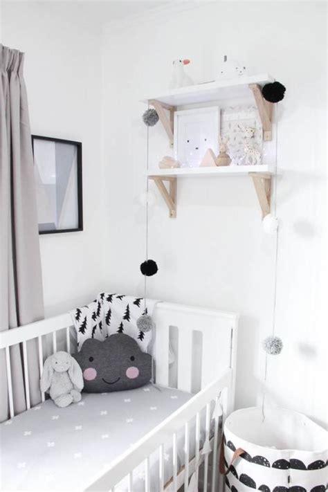 deco chambre noir et blanc 17 meilleures idées à propos de chambres bébé sur