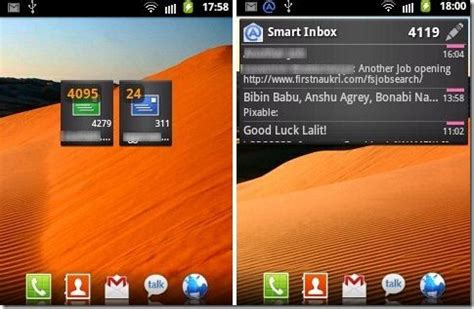 email widgets for android check yahoo mail gmail hotmail pop imap email on