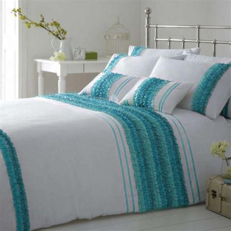 teal bedding