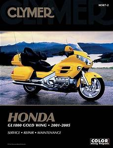 Clymer Honda Gl 1800 Gold Wing 2001 2005 Clymer Motorcycle Repair Clymer Color Wiring Diagrams
