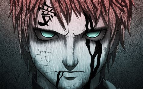 artwork gaara naruto shippuuden anime wallpapers hd