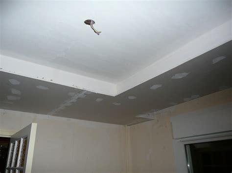 plafond pvc cuisine faux plafond autoportant partiel eclairage