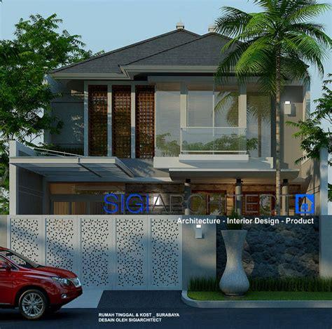 desain rumah tumbuh rumah minimalis tropis  lantai