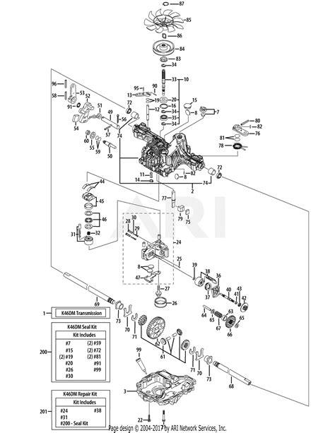 troy bilt aaakq tb  parts diagram
