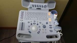 Ge Logiq P5 Color Doppler Ultrasound Scanner
