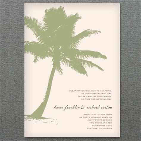printable party invitation palm tree beach invitation