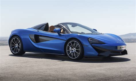 mclaren sports series blows  top  arrival