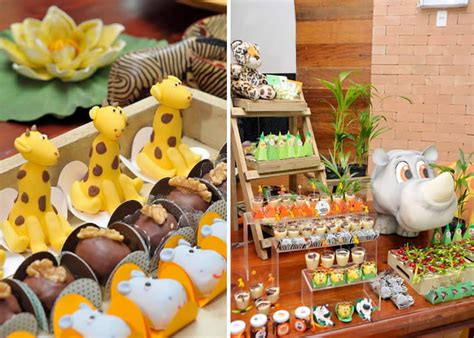 safari  jungle theme baby shower party baby shower ideas