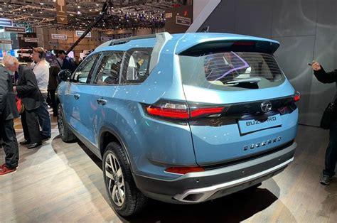 Tata Buzzard Suv (h7x) Debuts At Geneva Motor Show 2019