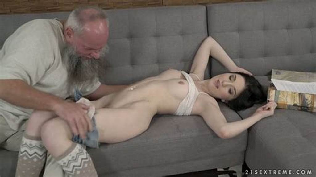 #Grey #Haired #Old #Pervert #Fucks #Pussy #Of #Hungarian #Pretty