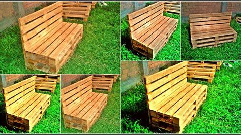 banca de palets  banca de madera  jardin detalles de