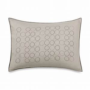 vera wang home bamboo leaves circle breakfast throw pillow With bamboo pillow bed bath and beyond