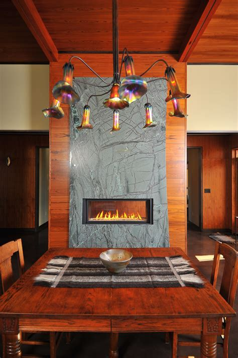 Soapstone Fireplace Surround   C&D Granite Countertops