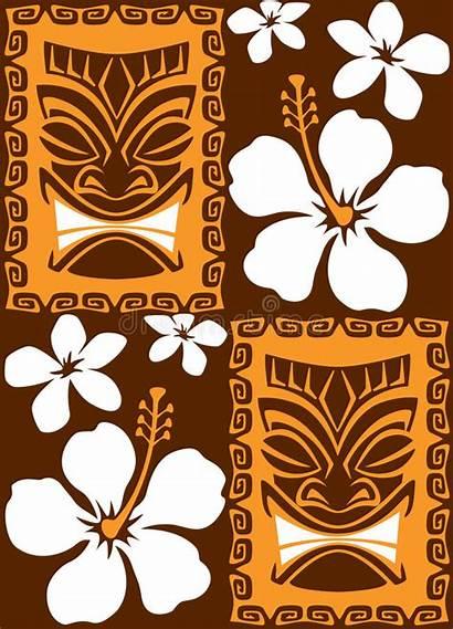 Tiki Royalty Seamless Tiles